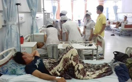 Khoa cấp cứu bệnh viện ĐKTP Cần Thơ - nơi điều dưỡng Thẩm bị người nhà bệnh nhân hành hung