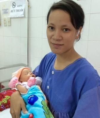 Mẹ con sản phụ Dễ đều khỏe, có thể xuất viện trong vài ngày tới