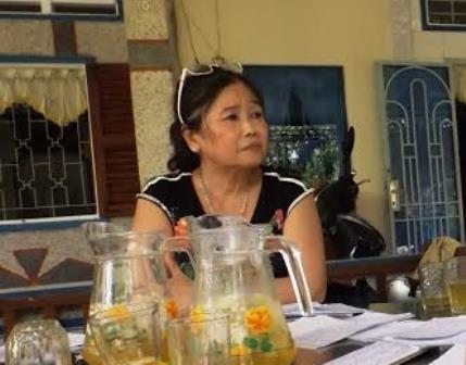 Bà Nguyễn Kim Tuyến bàng hoàng cho biết mất tới 23 tỷ đồng.