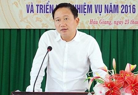 Ông Trịnh Xuân Thanh - Phó Chủ tịch UBND tỉnh Hậu Giang (ảnh báo Hậu Giang)