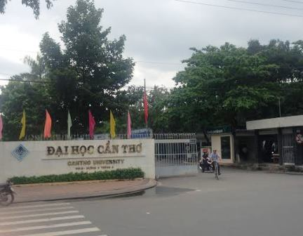 Đại học Cần Thơ - nơi tiến sĩ Nhuận từng công tác