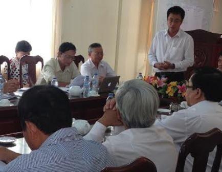 Đoàn Thanh tra tới Hậu Giang công bố quyết định thanh tra 29 doanh nghiệp tại Hậu Giang về lĩnh vực môi trường