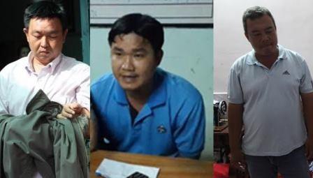 3 Thanh tra giao thông (sở GTVT Cần Thơ) vừa bị công an Cần Thơ bắt do nhận tiền hối lộ của nhà xe