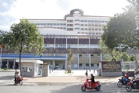 Bệnh viện Đa khoa TP Cần Thơ, nơi có gần 2.000 bệnh nhân đến thăm khám và điều trị