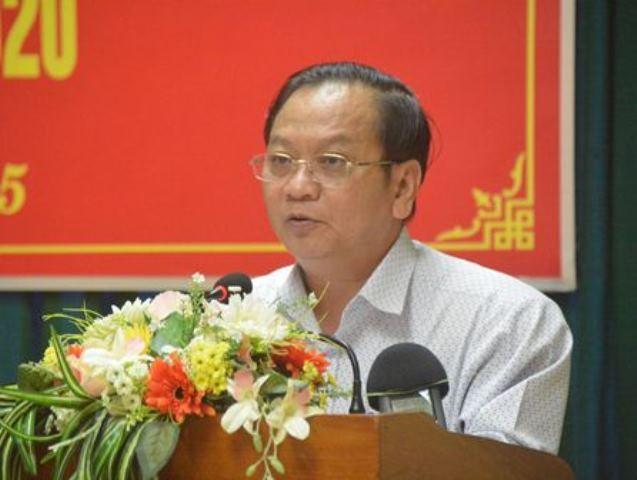 Ông Trần Quốc Trung - Bí thư Thành ủy Cần Thơ
