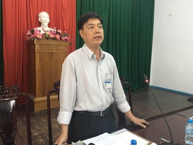 Ông Trịnh Ngọc Vĩnh - Phó Giám đốc sở GTVT Cần Thơ trao đổi với PV chiều 9/8