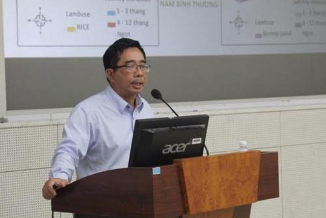 PGS-TS Lê Anh Tuấn- Phó viện Trưởng Viện Nghiên cứu Biến đổi khí hậu ĐBSCL: Sự mất mát do huỷ hoại tài nguyên nước sẽ gây hậu quả rất lớn và rất khó khắc phục