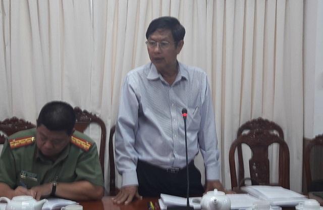 Ông Lê Văn Tâm - Phó Chủ tịch thường trực UBND TP Cần Thơ: Tôi nghe báo cáo xong mà bần thần