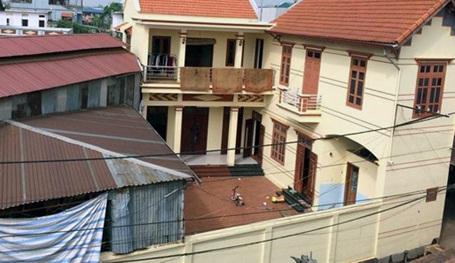 Hiện trường vụ trộm đột nhập, sát hại 2 người ở Thạch Thất, Hà Nội.