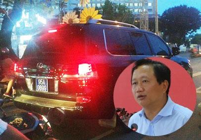 Phó Chủ tịch tỉnh Hậu Giang và chiếc xe biển xanh đi mượn.