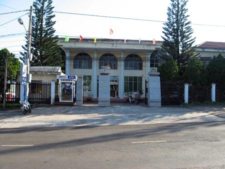 Kho bạc nhà nước huyện Chư Păh
