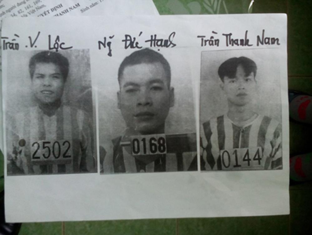 3 bị cáo trốn trại nhận thêm mức án gần 30 năm tù giam