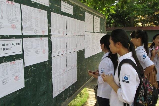 Sở GD&ĐT sẽ kiểm tra xác suất một số học bạ THCS để chuẩn bị thi lớp 10 THPT