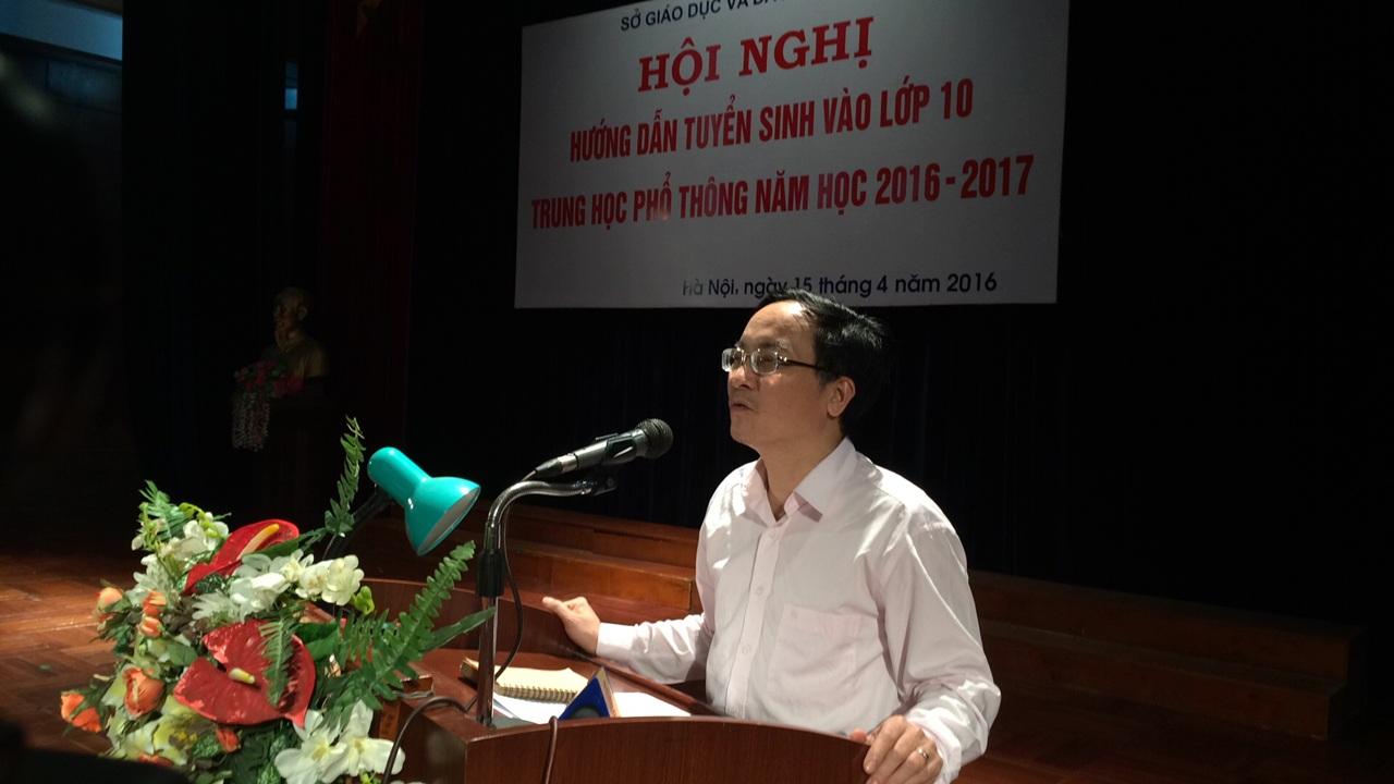 Phó Giám đốc Sở GD&ĐT Hà Nội tại Hội nghị