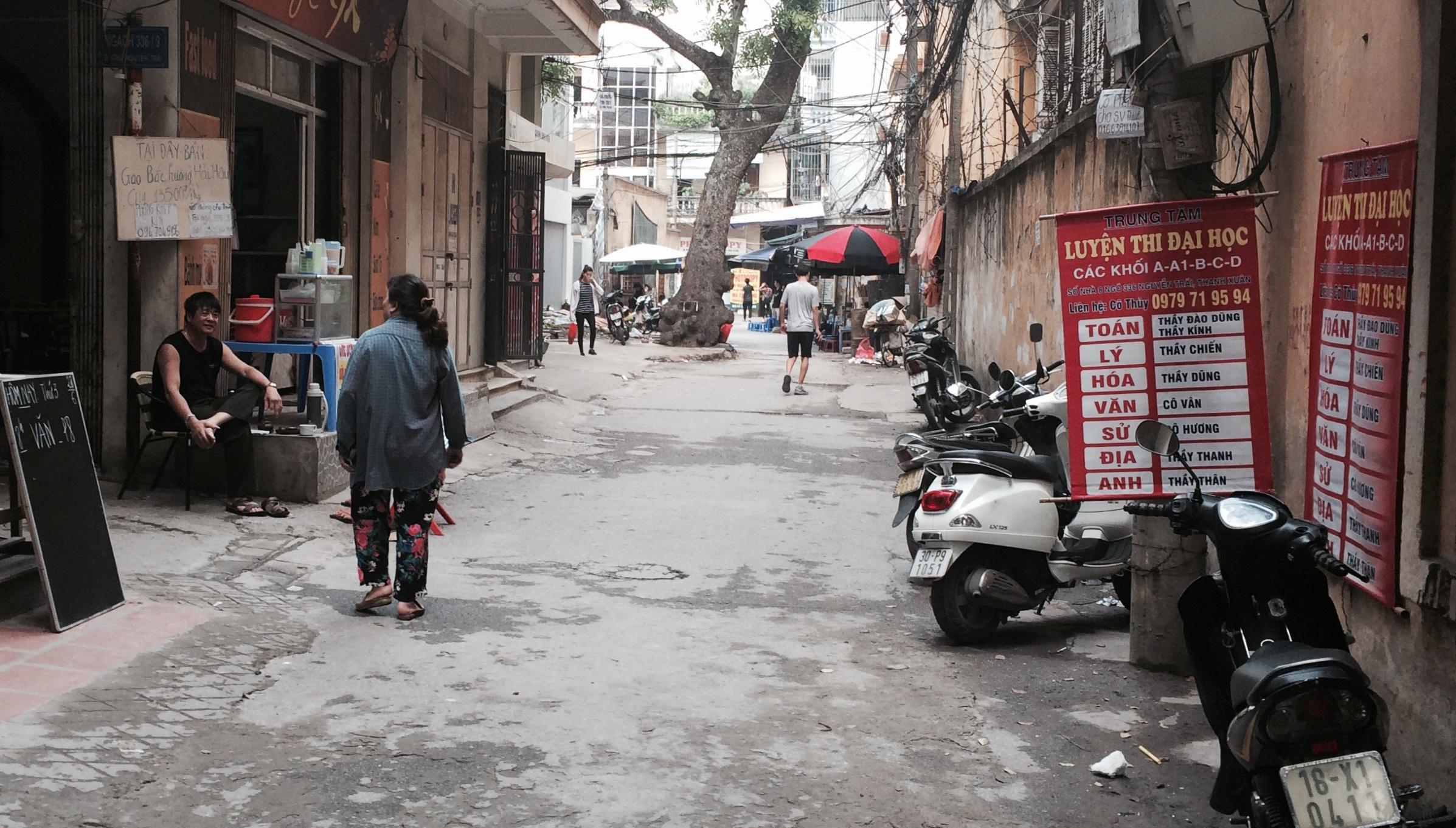 Tại ngõ 336 Nguyễn Trãi, hiện chỉ còn một lò luyện còn hoạt động