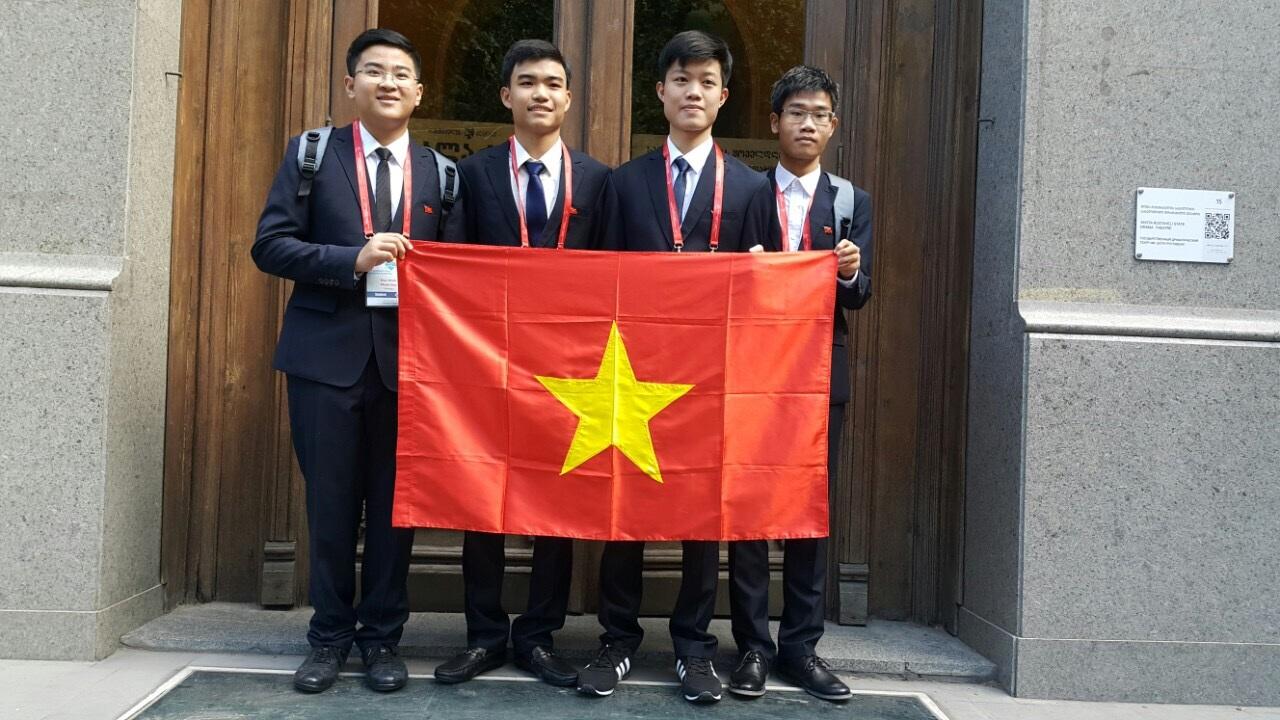 Đội tuyển Olympic Hóa học quốc tế 2016 của Việt Nam