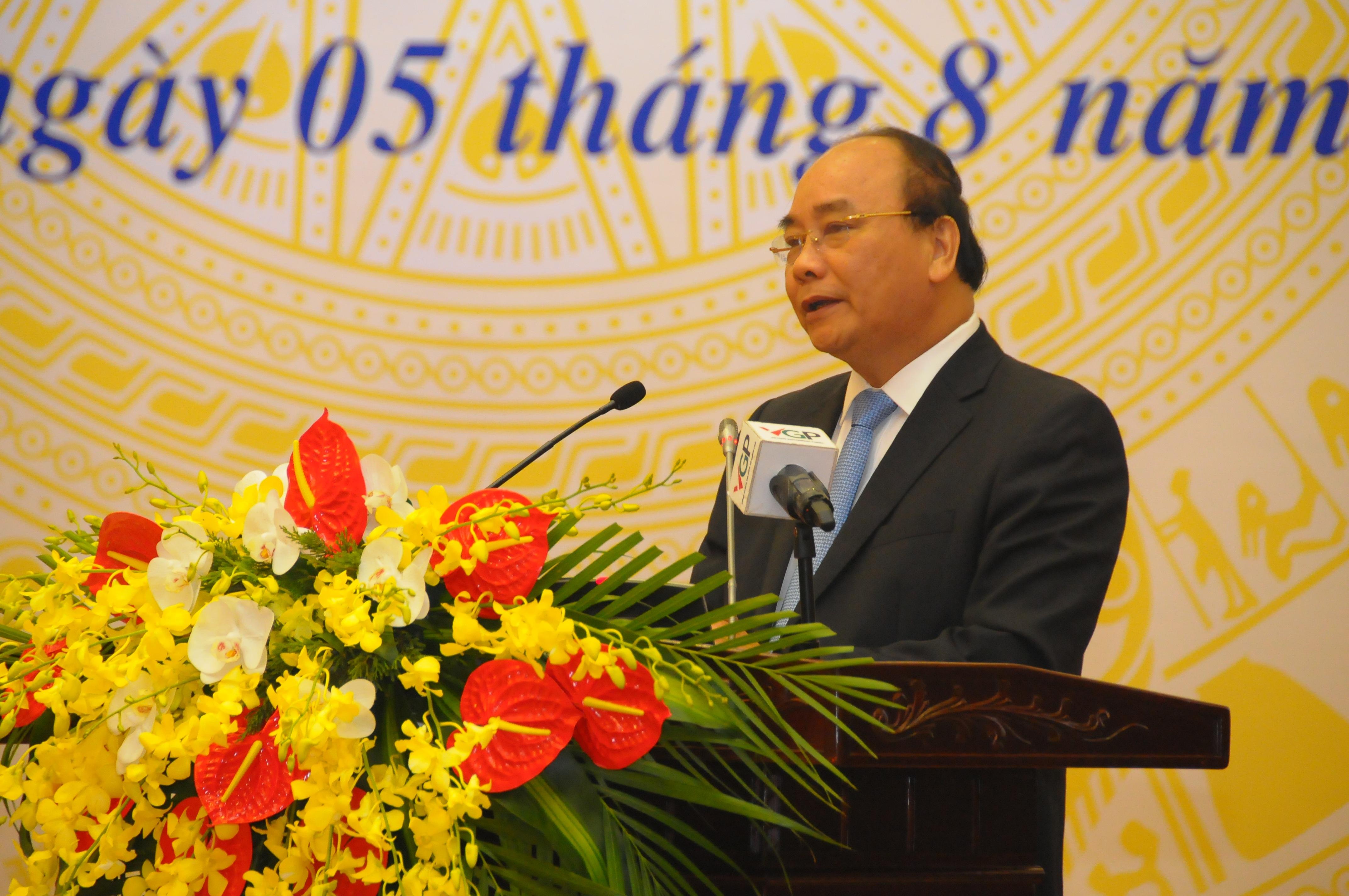 Thủ tướng Chính phủ Nguyễn Xuân Phúc (ảnh: Kim Khang)