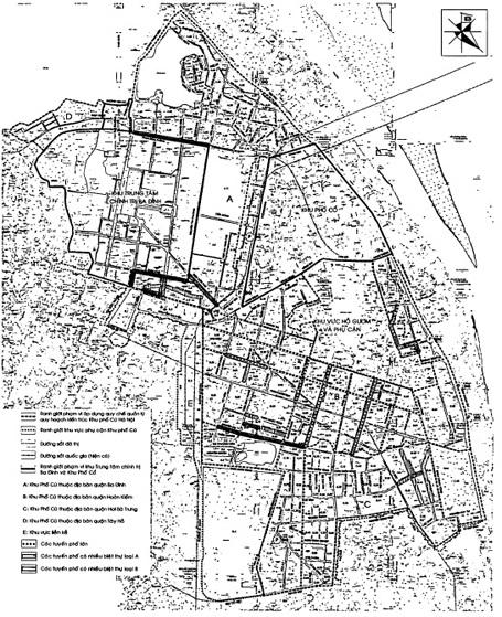 Toàn bộ khu phố cũ trên địa bàn Hà Nội có diện tích hơn 500ha