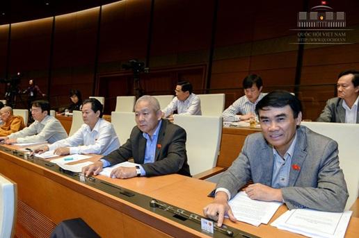 Luật Trưng cầu ý dân được Quốc hội thông qua chiều ngày 25/11. (Ảnh: Quochoi.vn)