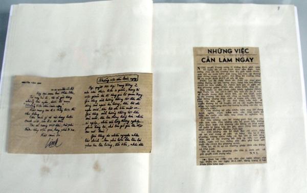 Báo Nhân Dân đăng bài viết của Tổng Bí thư Nguyễn Văn Linh trên chuyên mục: Những việc cần làm ngay.