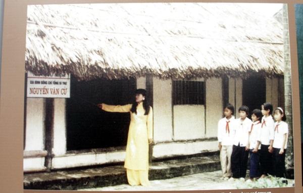 Ngôi nhà, nơi sinh ra và lớn lên của Tổng Bí thư Nguyễn Văn Cừ tại xã Phù Khê, huyện Từ Sơn, tỉnh Bắc Ninh.