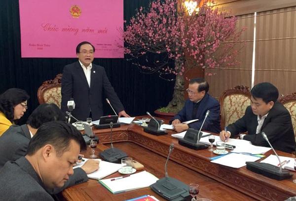 Bí thư Thành ủy Hà Nội Hoàng Trung Hải yêu cầu các cơ quan quán triệt nhân viên không được bỏ giờ làm việc đi lễ hội