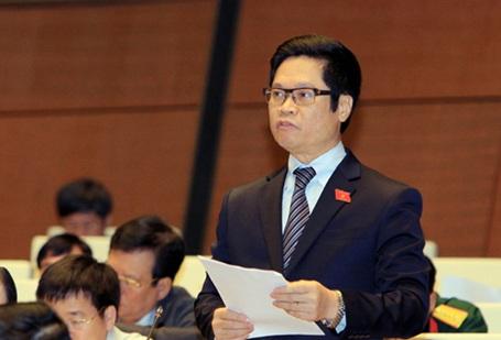 Đại biểu Vũ Tiến Lộc nêu mong muốn Quốc hội sẽ chung tay cùng Chính phủ vượt qua được lực cản của các nhóm lợi ích
