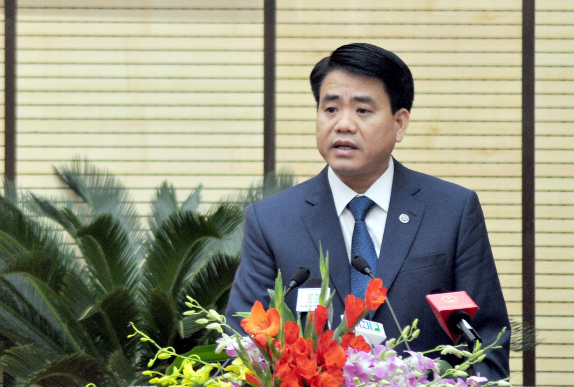 Ông Nguyễn Đức Chung - Chủ tịch UBND TP Hà Nội nhiệm kỳ 2011-2016