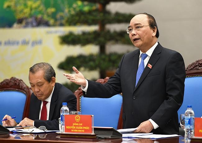 Thủ tướng Nguyễn Xuân Phúc phân công công tác cụ thể từng Phó Thủ tướng
