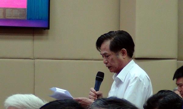 Cử tri quận Thanh Xuân đề nghị các ứng viên nếu được bầu làm đại biểu Quốc hội khóa XIV thì không được quên chương trình hành động