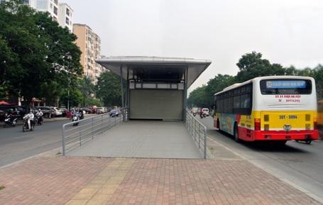 Sở GTVT Hà Nội dự kiến cuối năm 2016 tuyến xe buýt nhanh sẽ đi vào hoạt động