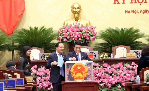 Ông Nguyễn Đức Chung tái đắc cử Chủ tịch UBND TP Hà Nội nhiệm kỳ 2016-2021