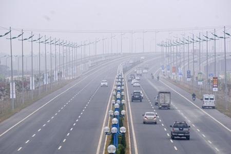 Tuyến đường Hoàng Sa, Trường Sa mà Hà Nội dự kiến đặt tên đều có điểm giao cắt với đường Võ Nguyên Giáp (ảnh Hữu Nghị)