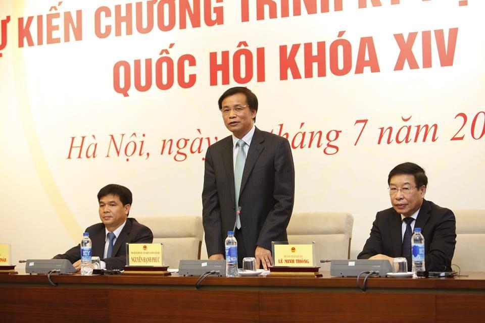 Ông Nguyễn Hạnh Phúc cho biết, những sai sót trong Bộ luật Hình sự là điều đáng tiếc