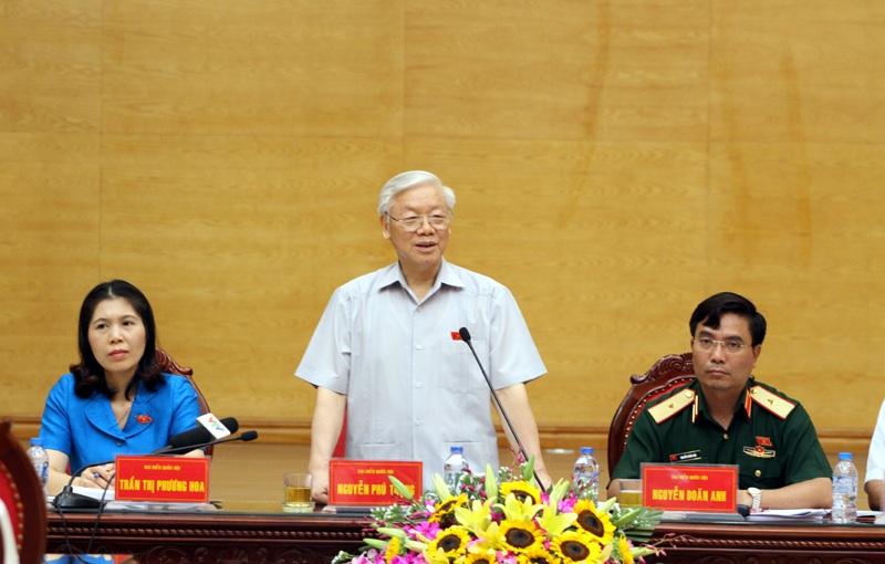 Tổng Bí thư Nguyễn Phú Trọng cho biết, vụ việc liên quan đến Trịnh Xuân Thanh chưa dừng lại