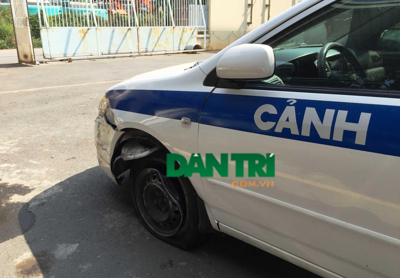 Trộm ôtô đặc chủng của CSGT rồi liên tiếp gây tai nạn - 1