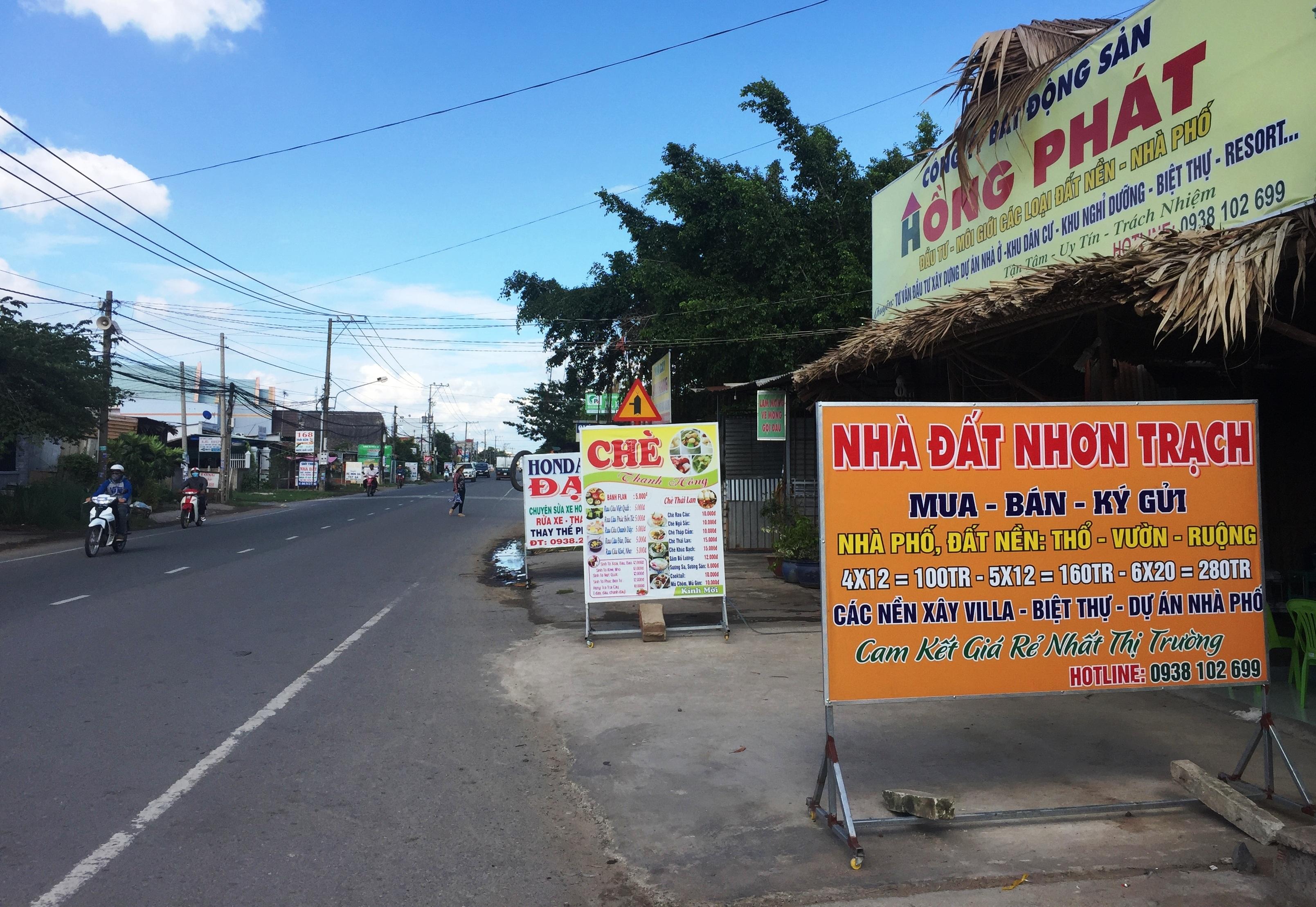 Theo lãnh đạo xã Phú Hữu, thị trường nhà đất ở địa phương và các xã lân cận đã nóng lên theo thông tin sẽ xây cầu thay bến phà Cát Lái.