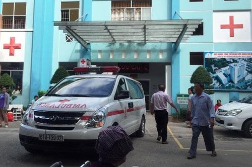 Các bác sĩ BV quận Thủ Đức xác định bé N. tử vong trước khi đến bệnh viện.