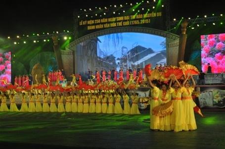 Long trọng Kỷ niệm 250 năm sinh Đại thi hào Nguyễn Du - 7