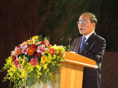 Chủ tịch Quốc hội Nguyễn Sinh Hùng:Nguyễn Du đã để lại cho hậu thế một di sản văn học vô cùng quý giá
