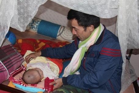 Người cựu binh bên đứa con trai đầu lòng Lê Nguyễn Trường Sa