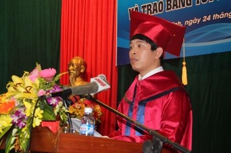 PGS- TS Nguyễn Đình Thọ, Hiệu trưởng Trường Đại học Hà Tĩnh