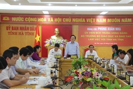 Bộ trưởng Bộ GD&ĐT Phùng Xuân Nhạ: Đổi mới giáo dục không thể như đánh du kích.