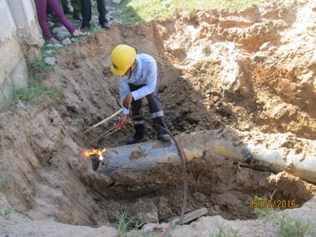 Công ty Formosa phải cắt bỏ đường ống xả ngầm ra mương thoát lũ của thị xã Kỳ Anh.