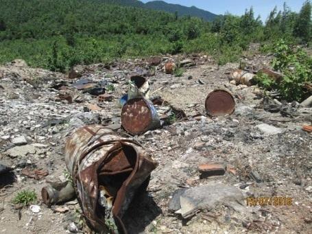 Bãi rác thải khổng lồ: Đều là chất thải của Formosa - 1