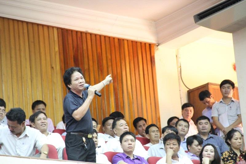 Ông Trần Phát Đạt, Chủ tịch hiệp hội doanh nghiệp huyện Hương Khê