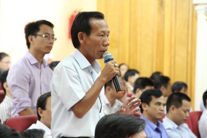 Ông Lý Ngân, Đại diện Hiệp hội doanh nghiệp thành phố cho hay hầu như sở nào cũng có tình trạng nhũng nhiễu
