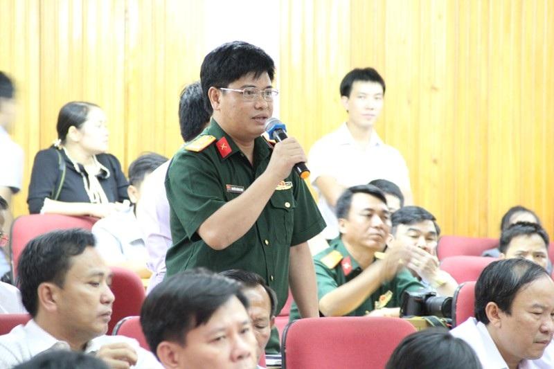 Đại diện cho Doanh nghiệp sản xuất nước khoáng Sơn Kim: Tôi tính từ đầu năm đến nay đã có hơn mười đoàn kiểm tra, thanh tra