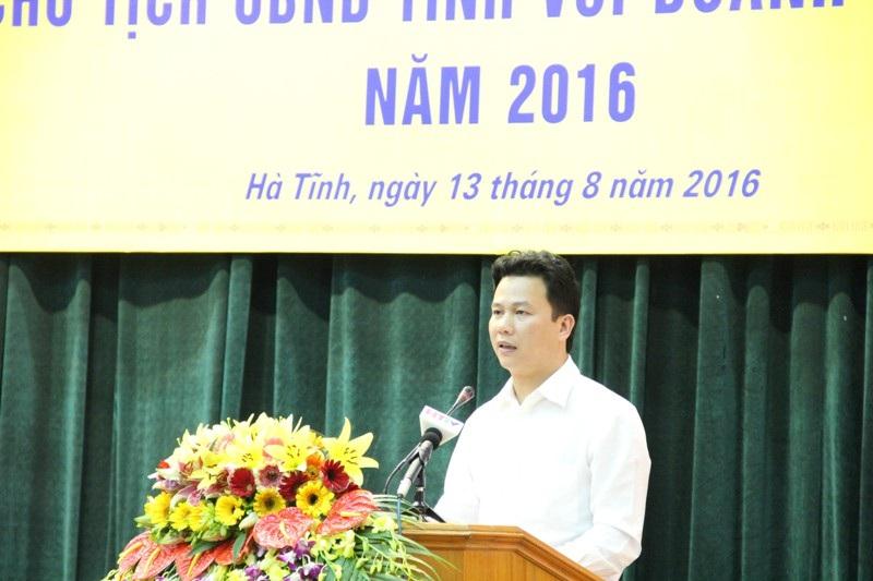 Chủ tịch UBND tỉnh Hà Tĩnh: Ai sách nhiễu hãy nhắn tin cho tôi