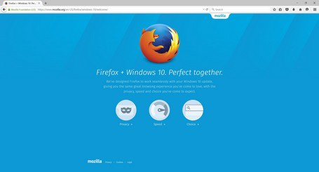 Firefox 40 được tối ưu tốt hơn dành cho Windows 10